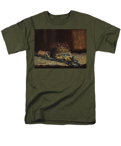 Notions Men's T-Shirt  (Regular Fit) by Dorothy Allston Rogers