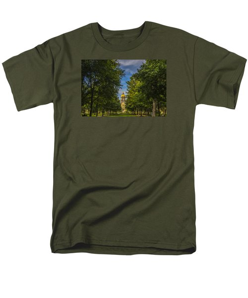 Notre Dame University 2 Men's T-Shirt  (Regular Fit) by David Haskett