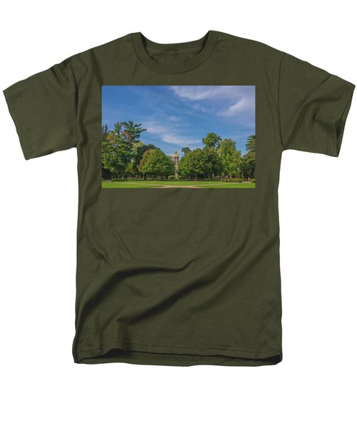 Men's T-Shirt  (Regular Fit) featuring the photograph Notre Dame University 6 by David Haskett