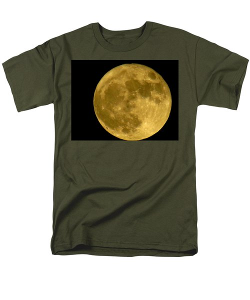 Men's T-Shirt  (Regular Fit) featuring the photograph November Full Moon by Eric Switzer