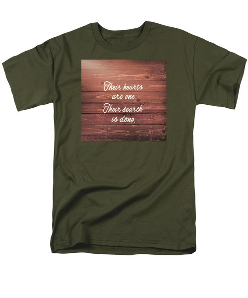 Nuptial Note Men's T-Shirt  (Regular Fit) by JAMART Photography