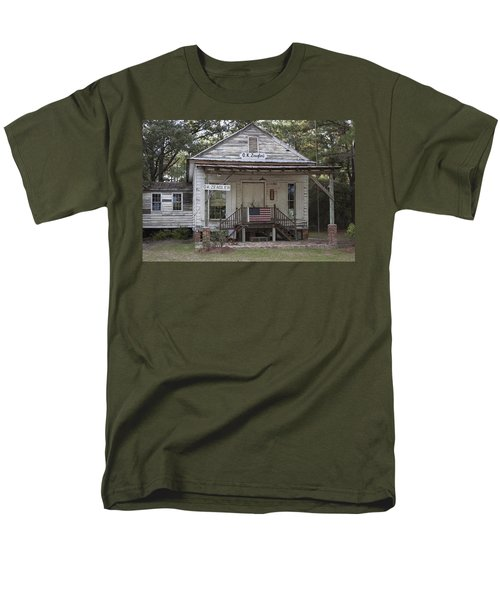 O K Zeaglers Mercantile And Post Office Men's T-Shirt  (Regular Fit) by Suzanne Gaff