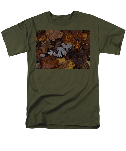 Oak And Maple Leaves Men's T-Shirt  (Regular Fit) by Tim Good