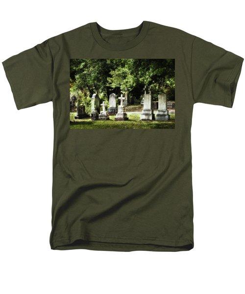 Oakdale Cemetery Men's T-Shirt  (Regular Fit) by Denis Lemay