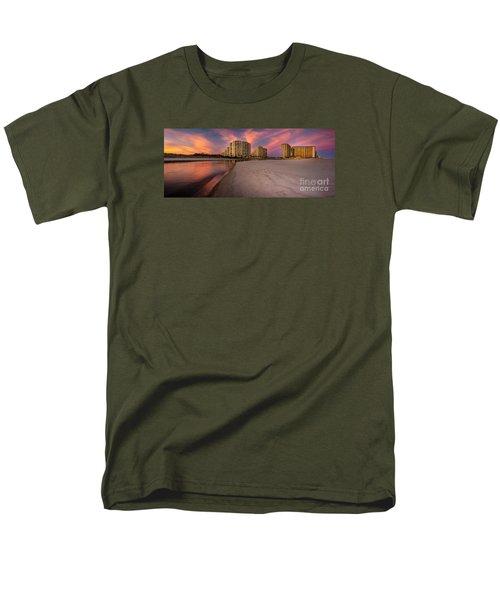 Ocean Creek Panoramic Men's T-Shirt  (Regular Fit) by David Smith