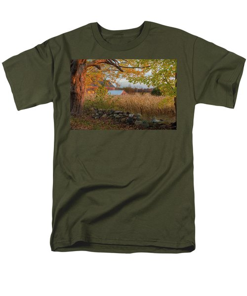 Men's T-Shirt  (Regular Fit) featuring the photograph October Morning 2016 by Bill Wakeley