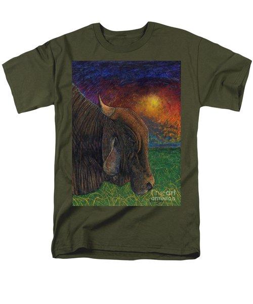Okeechobee Brahman Men's T-Shirt  (Regular Fit)