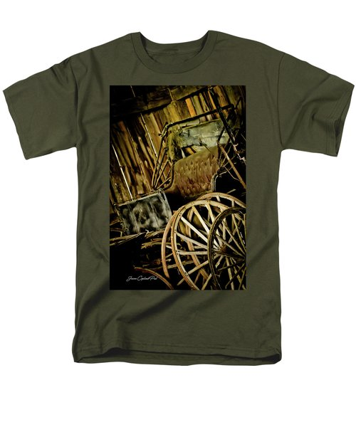 Men's T-Shirt  (Regular Fit) featuring the photograph Old Carriage by Joann Copeland-Paul