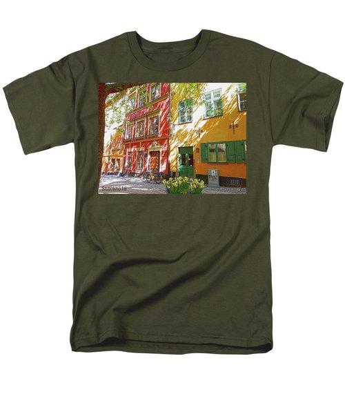 Old City Men's T-Shirt  (Regular Fit) by Thomas M Pikolin
