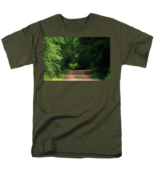 Men's T-Shirt  (Regular Fit) featuring the photograph Old Dirt Road by Shelby Young