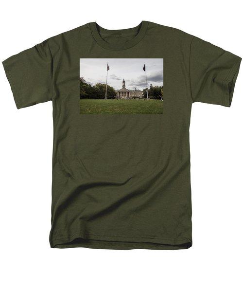 Old Main Penn State Wide Shot  Men's T-Shirt  (Regular Fit) by John McGraw