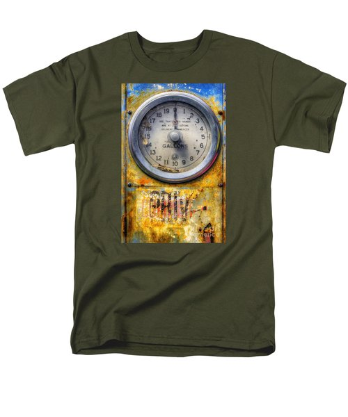 Old Petrol Pump Gauge Men's T-Shirt  (Regular Fit) by Ian Mitchell