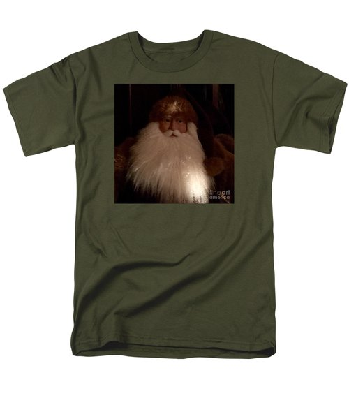 Old Saint Nick Men's T-Shirt  (Regular Fit) by Patricia E Sundik