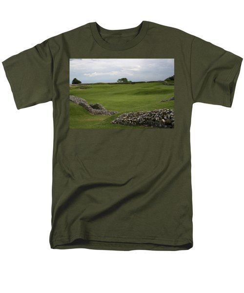 Old Sarum Men's T-Shirt  (Regular Fit) by Mary Mikawoz