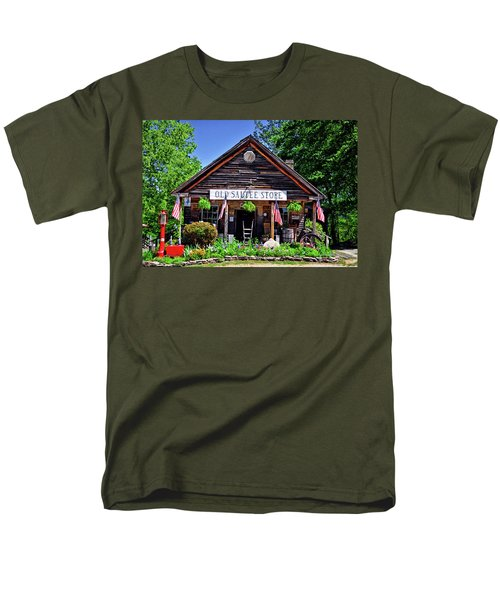 Old Sautee Store - Helen Ga 004 Men's T-Shirt  (Regular Fit) by George Bostian
