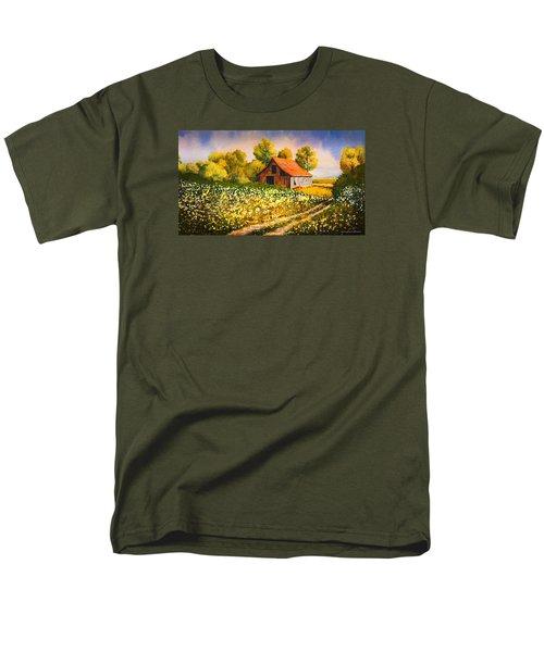 Old Spring Farm Men's T-Shirt  (Regular Fit) by Douglas Castleman