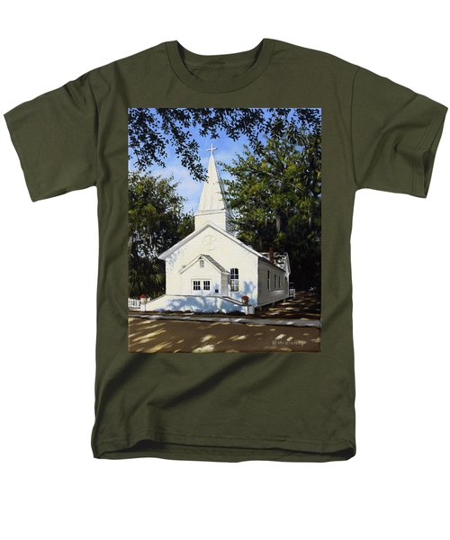 Old St. Andrew Church Men's T-Shirt  (Regular Fit) by Rick McKinney