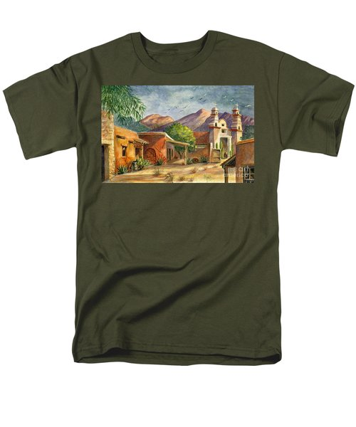Old Tucson Men's T-Shirt  (Regular Fit) by Marilyn Smith