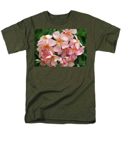 Men's T-Shirt  (Regular Fit) featuring the photograph Oleander Dr. Ragioneri 3 by Wilhelm Hufnagl