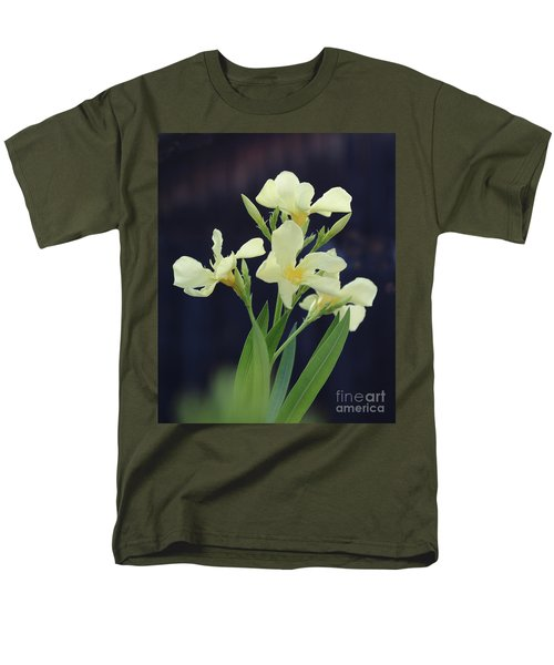 Men's T-Shirt  (Regular Fit) featuring the photograph Oleander Marie Gambetta 2 by Wilhelm Hufnagl