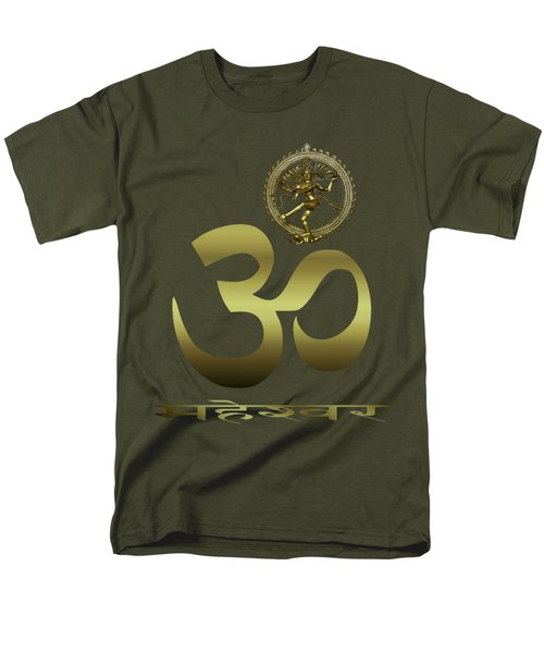 Men's T-Shirt  (Regular Fit) featuring the photograph Om Shiva by Robert G Kernodle