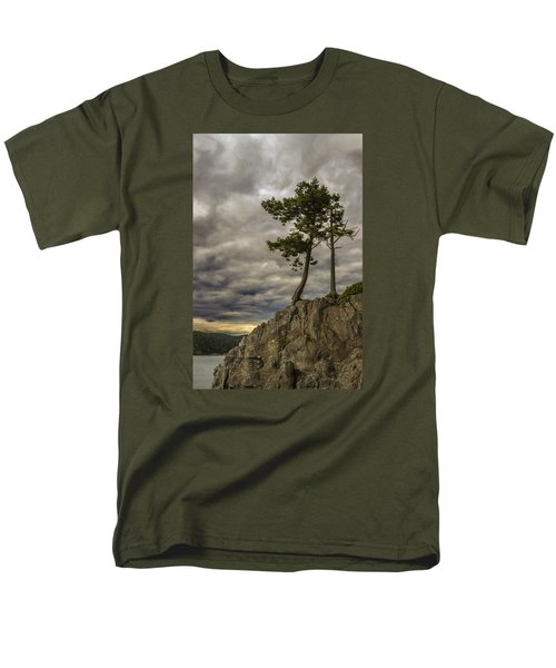 Ominous Weather Men's T-Shirt  (Regular Fit) by Ed Clark