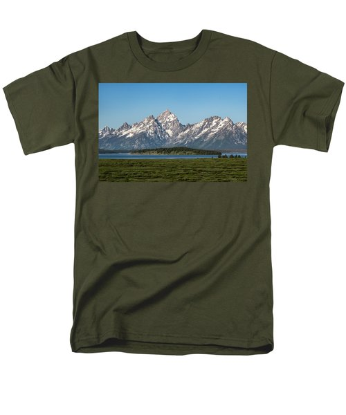 Men's T-Shirt  (Regular Fit) featuring the photograph On A Clear Day by Jan Davies