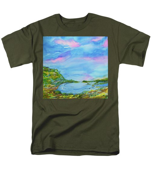 On A Clear Day Men's T-Shirt  (Regular Fit) by Susan D Moody