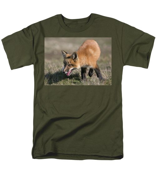 On The Prowl Men's T-Shirt  (Regular Fit) by Elvira Butler