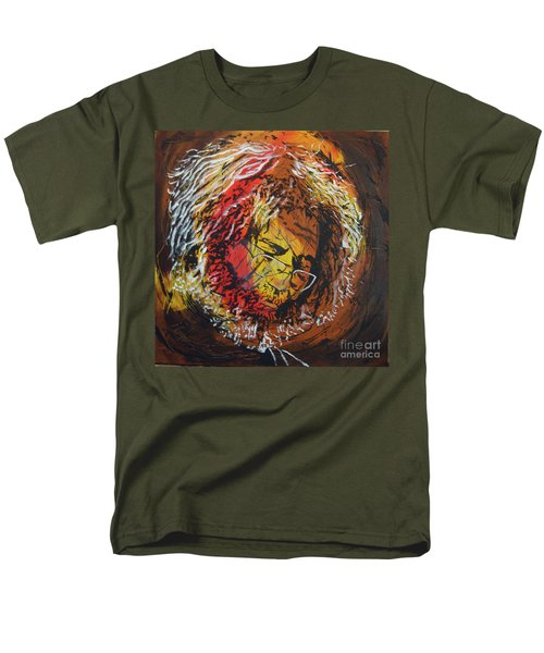 Once A Lion Men's T-Shirt  (Regular Fit) by Stuart Engel