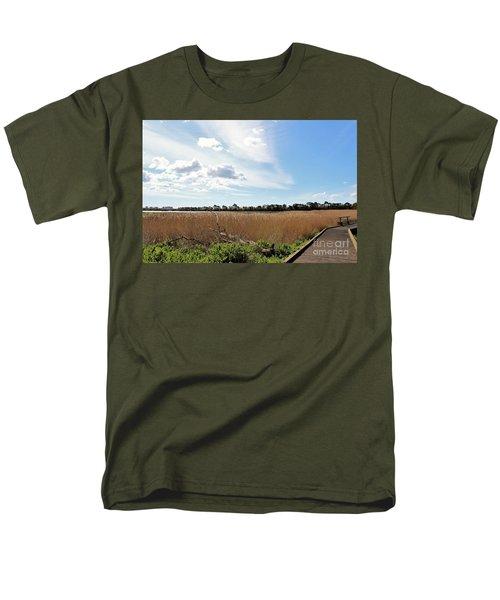 One Beautiful Day... Men's T-Shirt  (Regular Fit) by Katy Mei