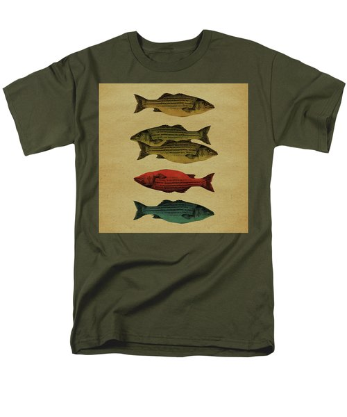 One Fish, Two Fish . . . Men's T-Shirt  (Regular Fit) by Meg Shearer