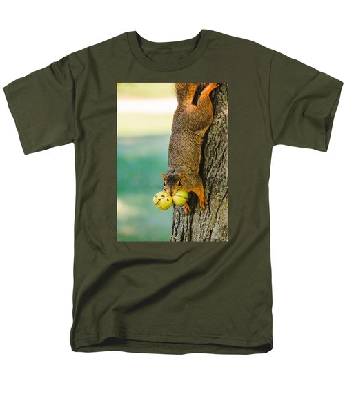 One Nut Is Never Enough Men's T-Shirt  (Regular Fit) by Joni Eskridge
