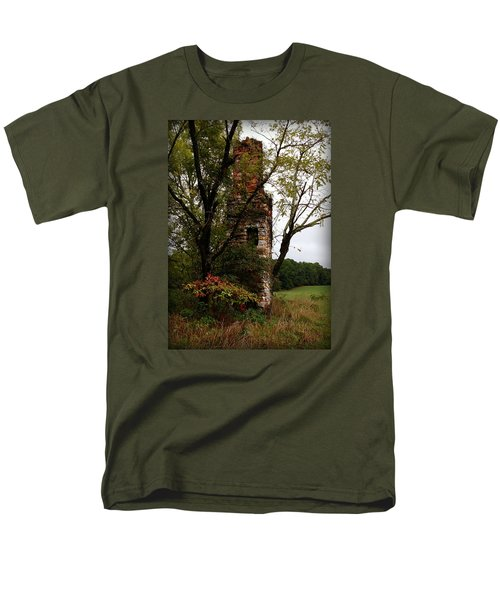Men's T-Shirt  (Regular Fit) featuring the photograph Only Thing Left Standing by Katie Wing Vigil
