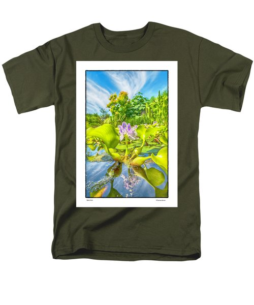 Men's T-Shirt  (Regular Fit) featuring the photograph Open Arms by R Thomas Berner