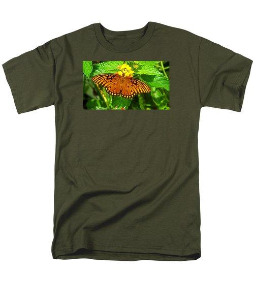 Open Wings Men's T-Shirt  (Regular Fit) by Judy Wanamaker
