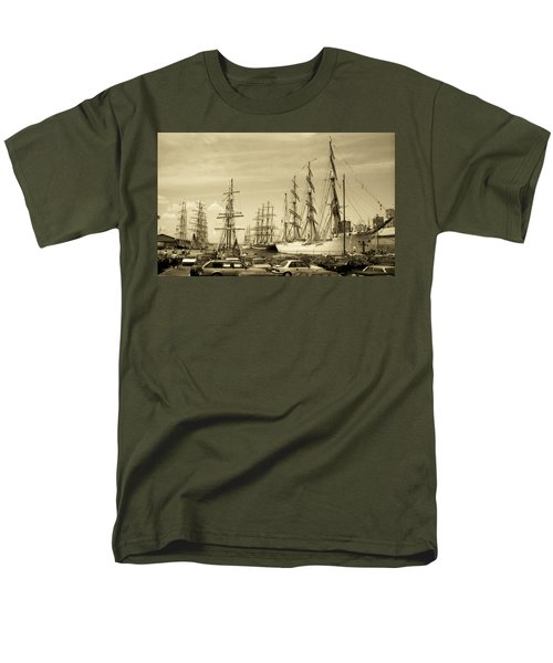 Operation Sail 1992 Brooklyn Men's T-Shirt  (Regular Fit) by John Schneider