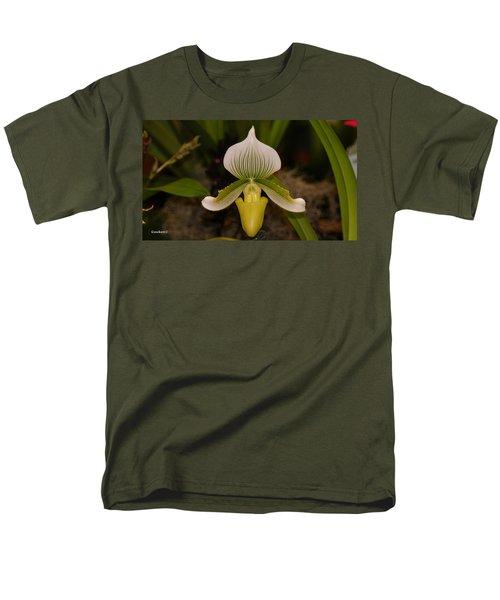 Orchid Flower 42 Men's T-Shirt  (Regular Fit) by Gary Crockett