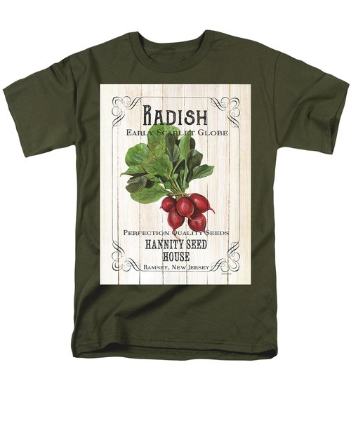 Organic Seed Packet 3 Men's T-Shirt  (Regular Fit) by Debbie DeWitt