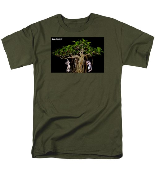Oriental Bonsai Gods Men's T-Shirt  (Regular Fit) by Gary Crockett