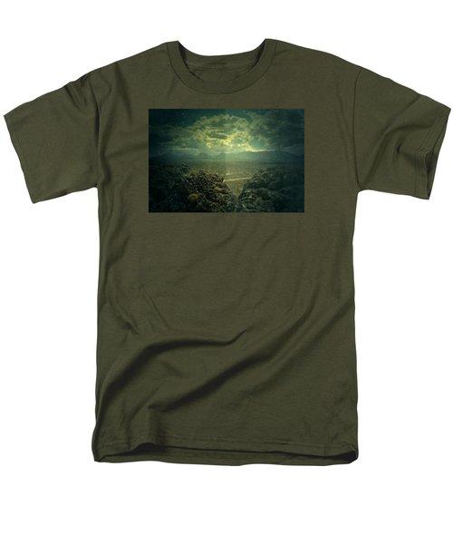 Otherside Men's T-Shirt  (Regular Fit) by Mark Ross