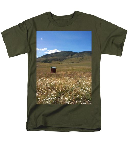 Men's T-Shirt  (Regular Fit) featuring the photograph Out House by Mary-Lee Sanders
