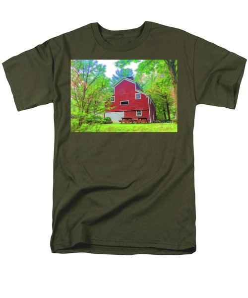 Men's T-Shirt  (Regular Fit) featuring the photograph Out In The Country by Jim Lepard