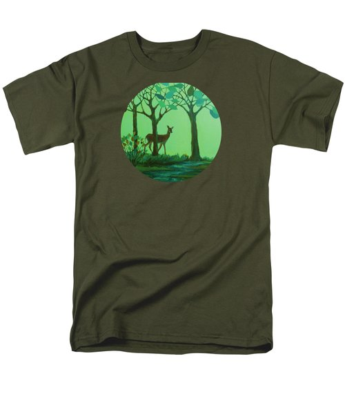 Out Of The Forest Men's T-Shirt  (Regular Fit) by Mary Wolf