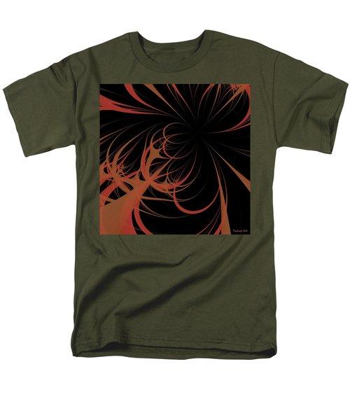 Men's T-Shirt  (Regular Fit) featuring the digital art Outbreak by Dragica  Micki Fortuna