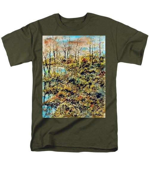 Outside Trodden Paths Men's T-Shirt  (Regular Fit)