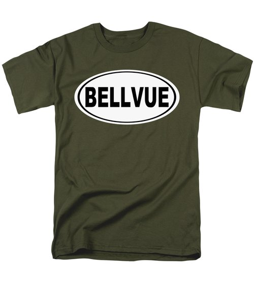 Men's T-Shirt  (Regular Fit) featuring the photograph Oval Bellvue Colorado Home Pride by Keith Webber Jr