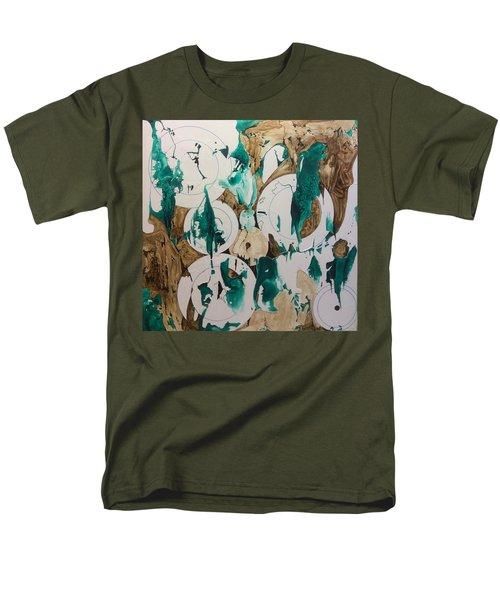 Over And Under Men's T-Shirt  (Regular Fit)