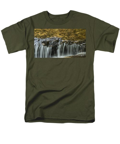 Men's T-Shirt  (Regular Fit) featuring the photograph Over The Edge by Alana Ranney