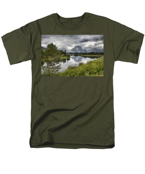 Oxbow Bend Men's T-Shirt  (Regular Fit) by Hugh Smith